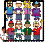 Clip Art~ Stars of the Week and Birthday Kids