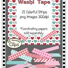 Clip Art - Valentine Washi Tape