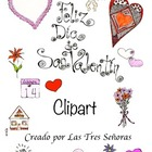 Clip Art Valentine for Personal or Commercial Use