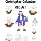Clip Art of Christopher Columbus
