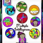 Clip Art~Multiple Intelligences Icons