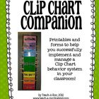 Clip Chart Companion- Management Forms and Reward Printables