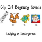Clip It Beginning Sounds