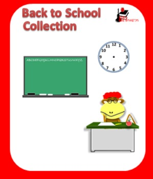 Clipart - Back to School Graphics to use in Your Projects