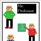 "Clipart - Character Graphics of ""The Professor"""