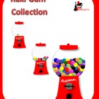 Clipart - Gumball Machines to use in Your Projects