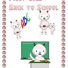 Clipart - Piggy Goes Back to School to use in Your Projects
