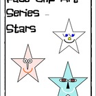 Clipart - Star Face Graphics to use in Your Projects