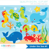 Clipart - Under the sea (#1)