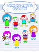 Clipart: complete kids pack