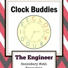 Clock Buddies Worksheet - Flag, President, Periodic Table 