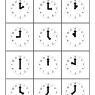 Clock Match Activity - analogue and digital - 10 pages