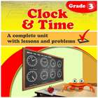 Clock and Time - common core, grade 3