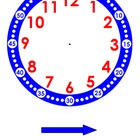 Clock for Teaching Time