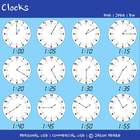 Clocks Clipart