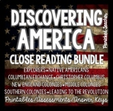 Close Read of the Week BUNDLE: Discovering America