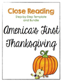 Close Reading Bundle - The First Thanksgiving - Step-by-St