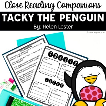 Close Reading Companion: Tacky the Penguin