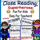 Close Reading; Fun for Kids ~ Easy for Teachers!