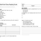 Close Reading Guide- Nonfiction/informational texts