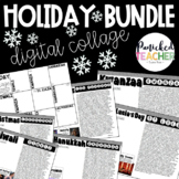 Close Reading: Holiday Pen Pals Around the World Bundle