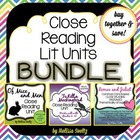 Close Reading Literature Bundle - OfMice&Men, Romeo&Juliet