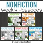 Close Reading Nonfiction Informational BUNDLE