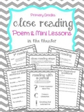 "Close Reading Poem & Mini Lessons ""In the Theater"""