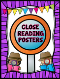 Close Reading Posters/Anchor Charts