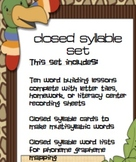 Closed syllable practice packet