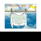Clothesline ABCs