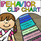 Clothespin Behavior Chart Kit - Polka Dot