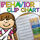 Clothespin Behavior Chart Kit