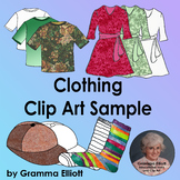 Clothing Clip Art Sample