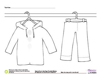 Clothing Spanish Lesson (2s) - Ropa