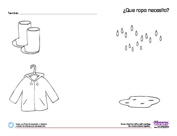 Clothing Spanish Lesson (3s) - Ropa