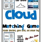 Cloud Matching Game (For Elementary Students!)