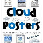 Cloud Posters (Includes 23 Different Ready-To-Print Posters)