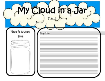 Cloud in a Jar observation book