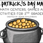 Clovers, Coins and Common Core! {5 Math and 5 ELA Centers,