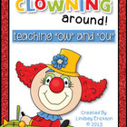 Clowning Around (&quot;OW&quot; and &quot;OU&quot;)