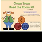 Clowning Around Read the Room Kit