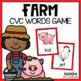 Cock-A-Doodle-Do {Farm Themed CVC Game}
