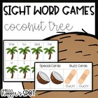 Coconut Boom! {A Differentiated Sight Word Game}