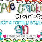 Code Crackin and More { Word Family -an}