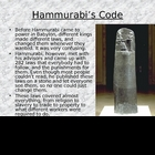 Code of Hammurabi &amp; Law-Making Activity