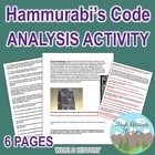 Code of Hammurabi Primary Source Group Work Analysis