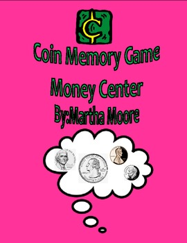 Coin Memory Game- Money Center