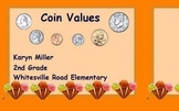 Coin Values - ActivInspire Container Flipchart Fun