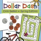 Coins and Dollars: Spring Money Math {Page Protector Printables}